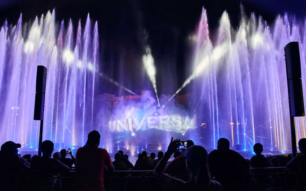 spectacle aquatique cinematic celebration universal studio 3