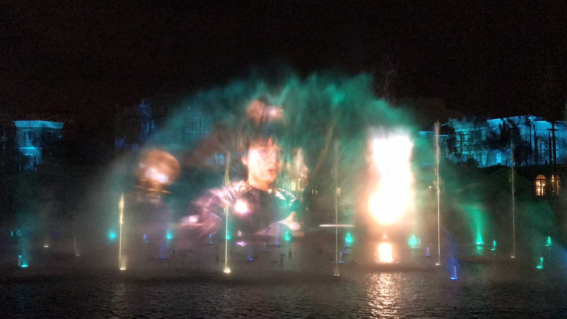 spectacle aquatique cinematic celebration universal studio 9